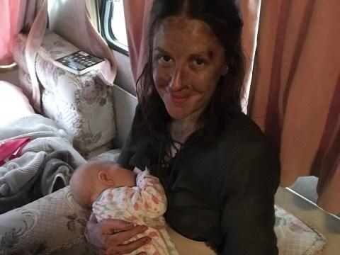 Game of Thrones star Gemma Whelan shares behind-the-scenes picture breastfeeding newborn baby in between battle scenes