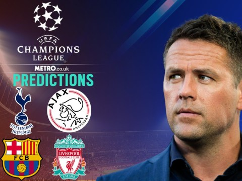 Michael Owen's Champions League predictions for Liverpool vs Barcelona & Ajax vs Tottenham