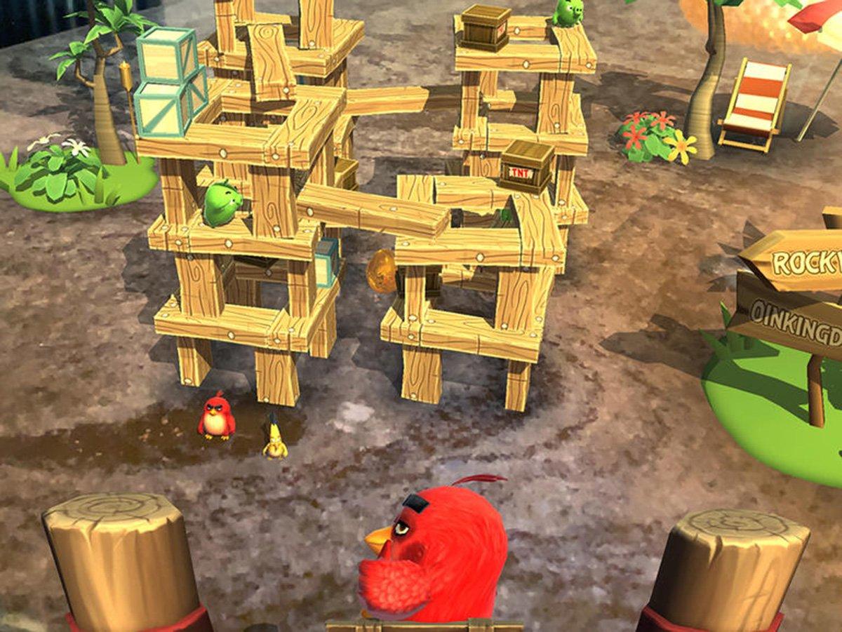 Game Angry Birds Kini Hadir di Smartphone Dengan Konsep AR
