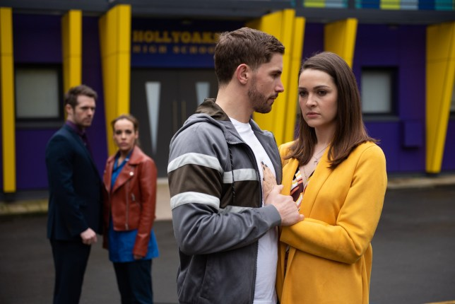 Sienna Blake (Anna Passey) gets the results of the sexual harassment investigation against Laurie Shelby (Kyle Pryor)