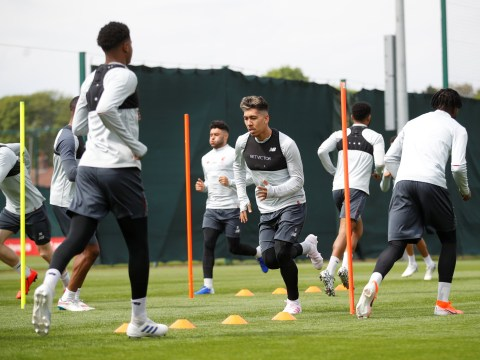 Roberto Firmino returns to training ahead of Liverpool's Champions League semi final against Barcelona