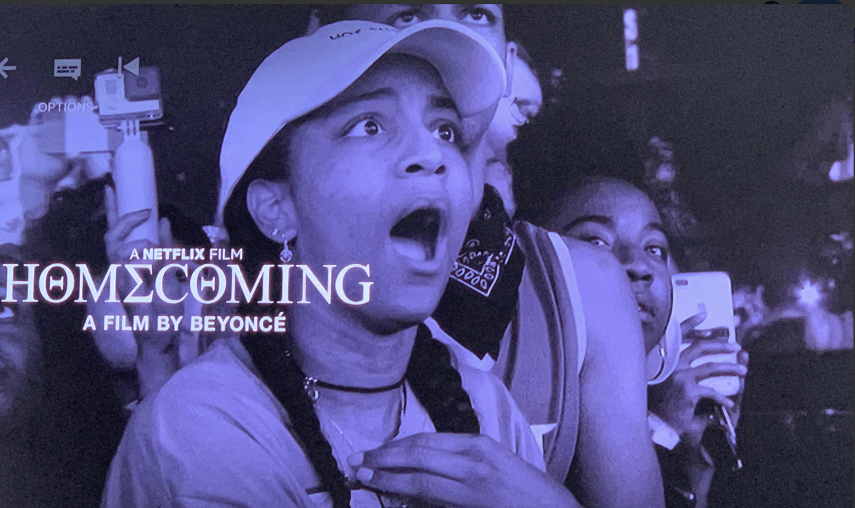 Beyonce superfan features in Homecoming promo