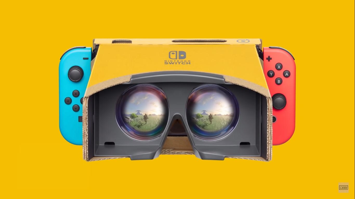 Zelda: Breath Of The Wild and Super Mario Odyssey get Labo VR support