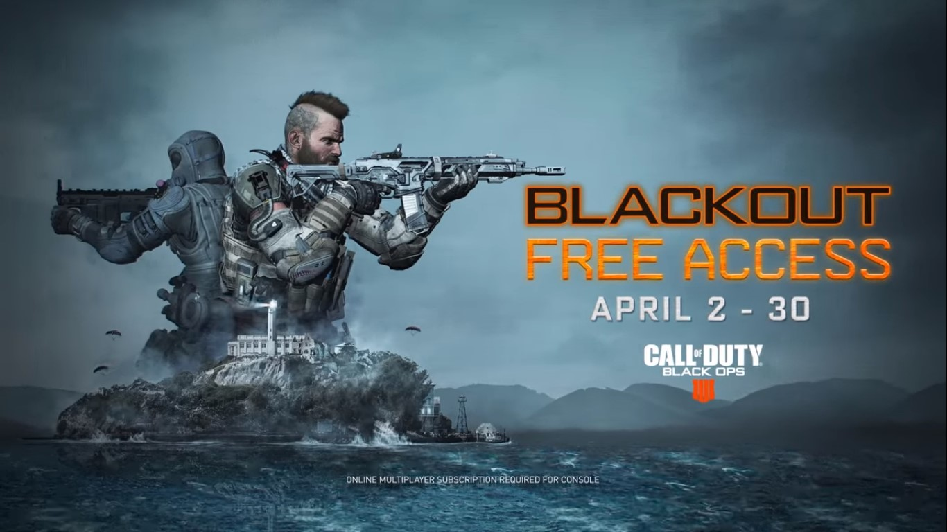 Call Of Duty 4: Black Ops 4 Alcatraz map is live today