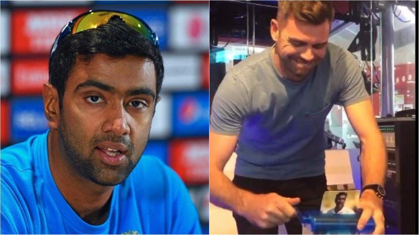 Ravi Ashwin responds after James Anderson is filmed shredding India star over IPL 'Mankad'