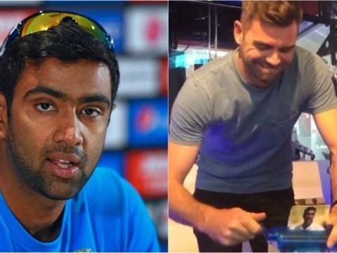 Ravi Ashwin responds after James Anderson is filmed shredding India star over IPL 'Mankad'