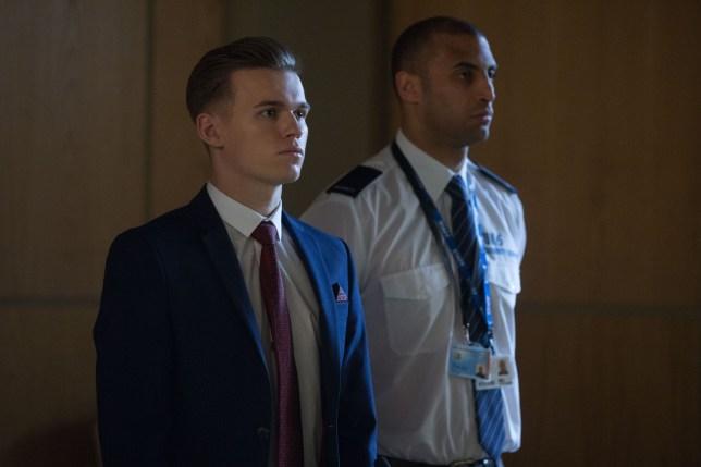 Hunter stands trial in EastEnders