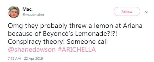 Ariana Grande fans tweet about troll throwing lemon at her during Coachella 2019 performance