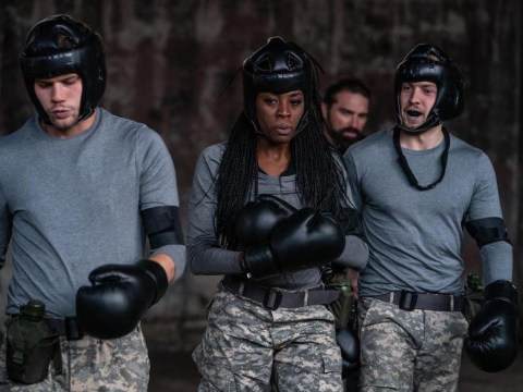 SAS: Who Dares Wins proves AJ Odudu a true warrior as she gets punched in the face by two men