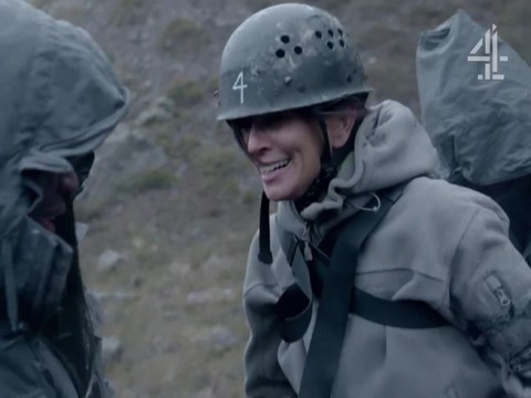 Andrea McLean struck with hypothermia on Celebrity SAS after abseiling down a mountain: 'Everything is shaking'