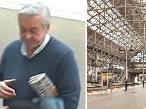 Search for elderly man after girl in school uniform is upskirted at train station
