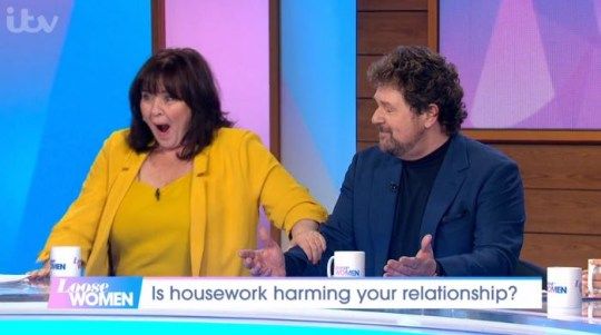 Michael Ball and Coleen Nolan on Loose Women