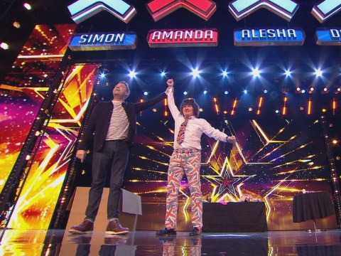 Britain's Got More Talent contestant David Watson finally gets golden buzzer after auditioning 10 times – but it came from Stephen Mulhern