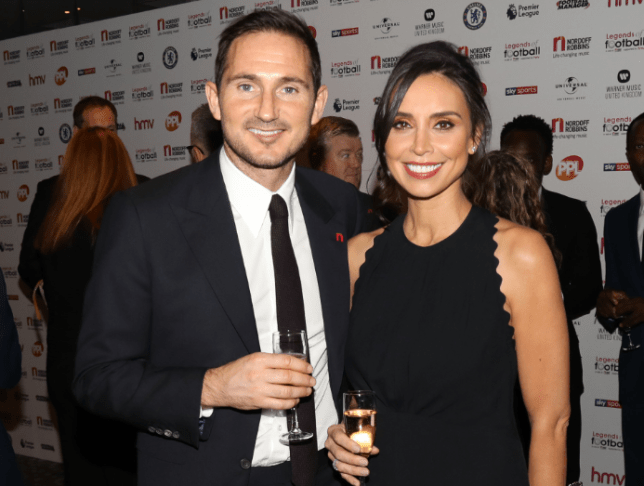 Christine Bleakley Would Spy On Frank Lampard S Phone If He Was Cheating Metro News