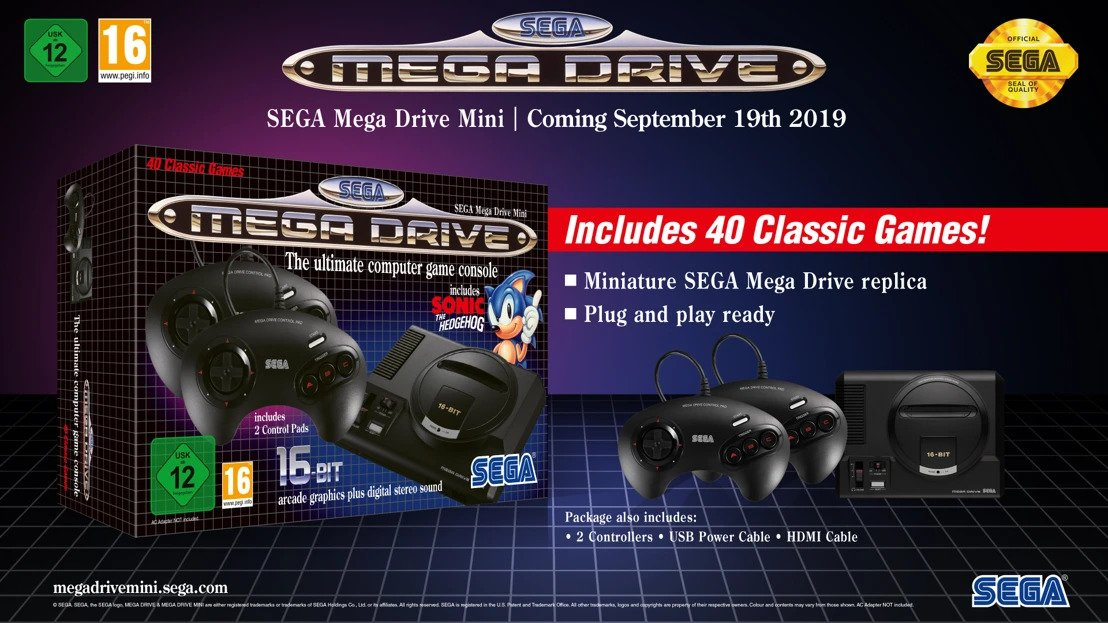 Games Inbox: Mega Drive Mini console, Anthem development woes, and Master Chief in Smash Bros.