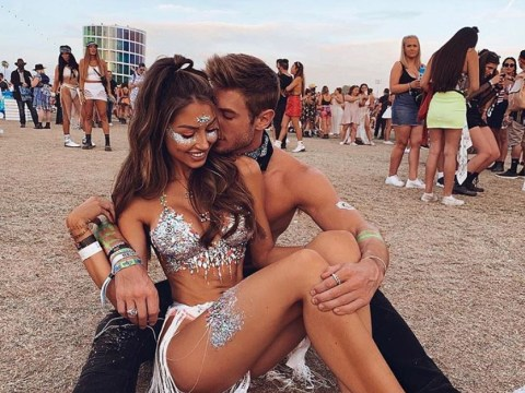 People are ditching clothes for glitter bras at Coachella
