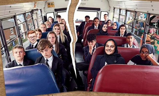 The pupils in Channel 4's The Great British School Swap
