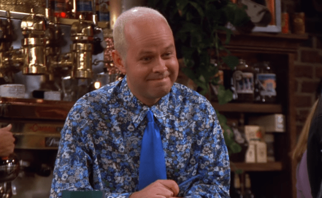 James Michael Tyler as Gunther in Friends