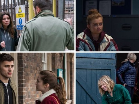 12 soap spoiler pictures: Coronation Street's missing person, EastEnders gang danger, Emmerdale sex shock, Hollyoaks death