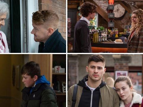 10 soap spoilers: Coronation Street evil villain, EastEnders drugs danger, Emmerdale abuse exposure, Hollyoaks tragic loss