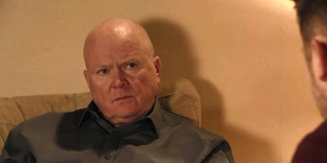 Phil Mitchell (Steve McFadden) knows someone has double crossed him