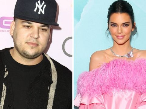 Rob Kardashian 'still not happy in spotlight' as he skips out on Kendall Jenner's family photo