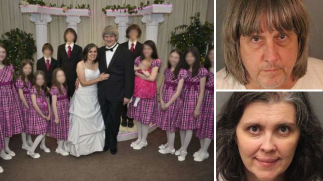 Shocking 911 call made by Turpin 'house of horrors' daughter as she escaped