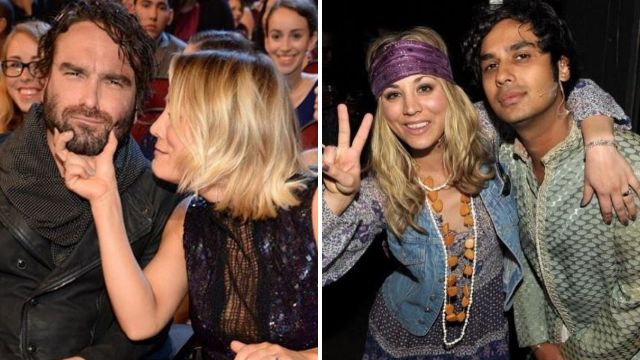 The Big Bang Theory's Kaley Cuoco wishes Johnny Galecki and Kunal Nayyar happy birthday as they spend it filming series finale