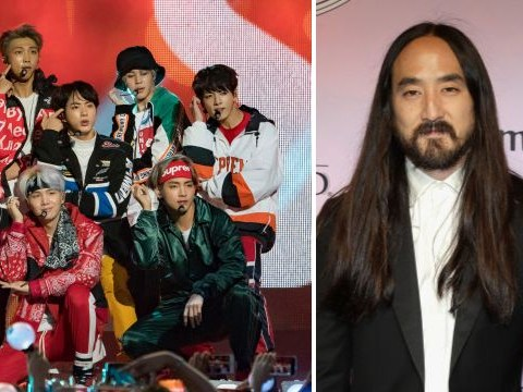 Steve Aoki says BTS will play on radio next to Ariana Grande as 'Asian culture takes world by storm'
