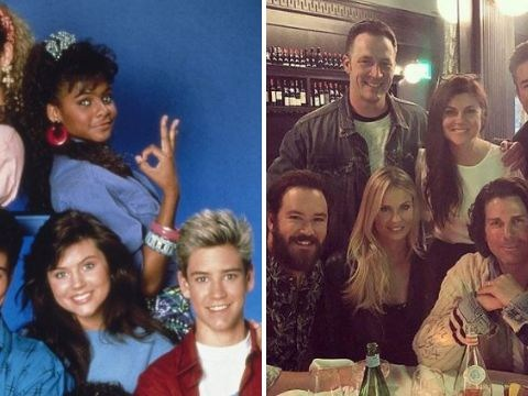 Saved By The Bell cast reunited for an epic catch-up dinner 30 years after show began – but who got the bill?