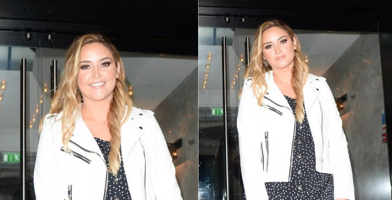 Jacqueline Jossa 'in good spirits' and sporting her wedding ring on girls night out