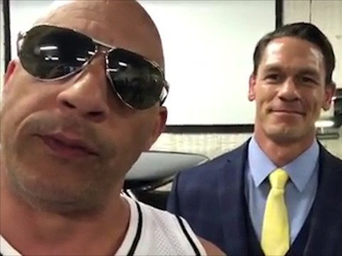 Vin Diesel teases John Cena's Fast and Furious casting during emotional Paul Walker tribute