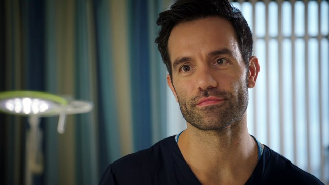 Kian causes a stir in Holby City