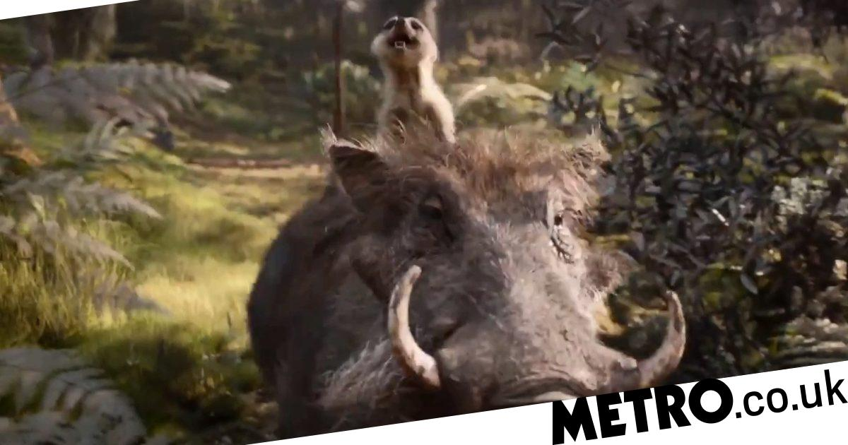 New Lion King Trailer Timon And Pumbaa Are Here To Lighten
