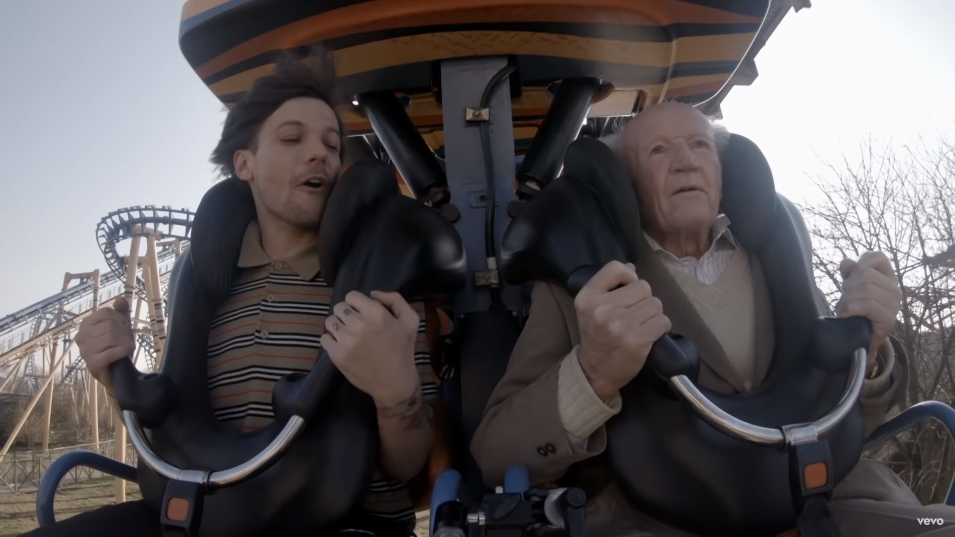 Louis Tomlinson Helps 83 Year Old Full Bucket Checklist In Emotional