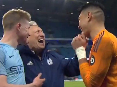 Neil Warnock reveals what he asked Kevin De Bruyne after Manchester City's win over Cardiff