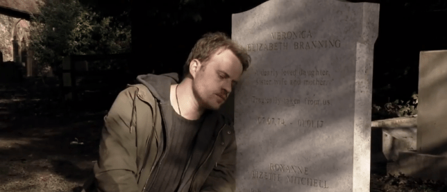Sean Slater contemplates suicide in EastEnders