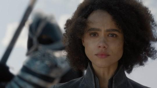 Nathalie Emmanuel as Missandei Game of Thrones
