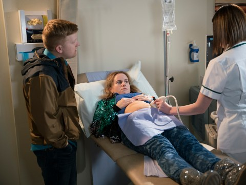 How common are quadruplets and how many babies will Gemma and Chesney have in Coronation Street?