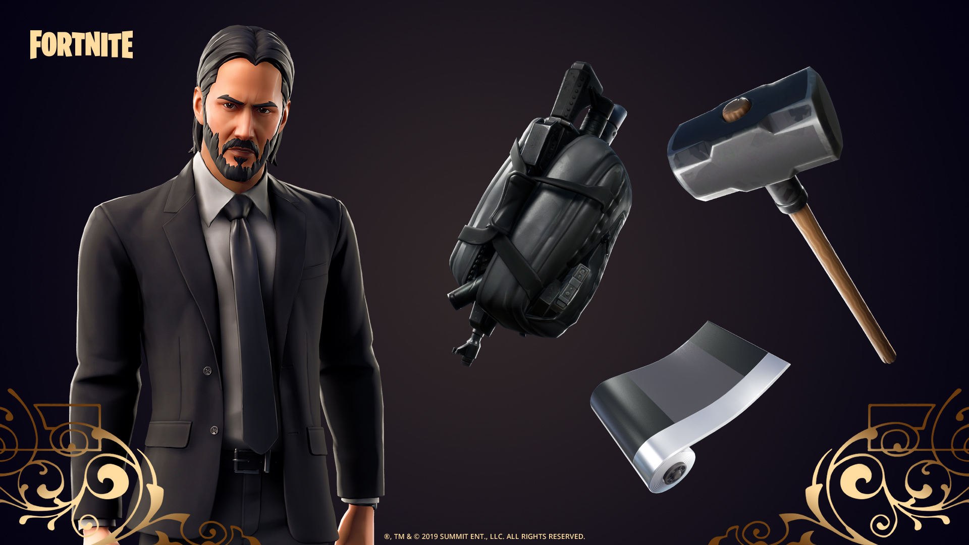 Fortnite launches John Wick crossover with special challenges, skins and more