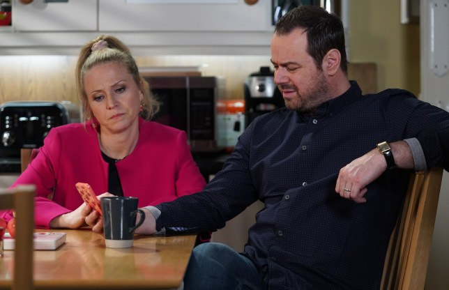 Mick and Linda struggle in EastEnders