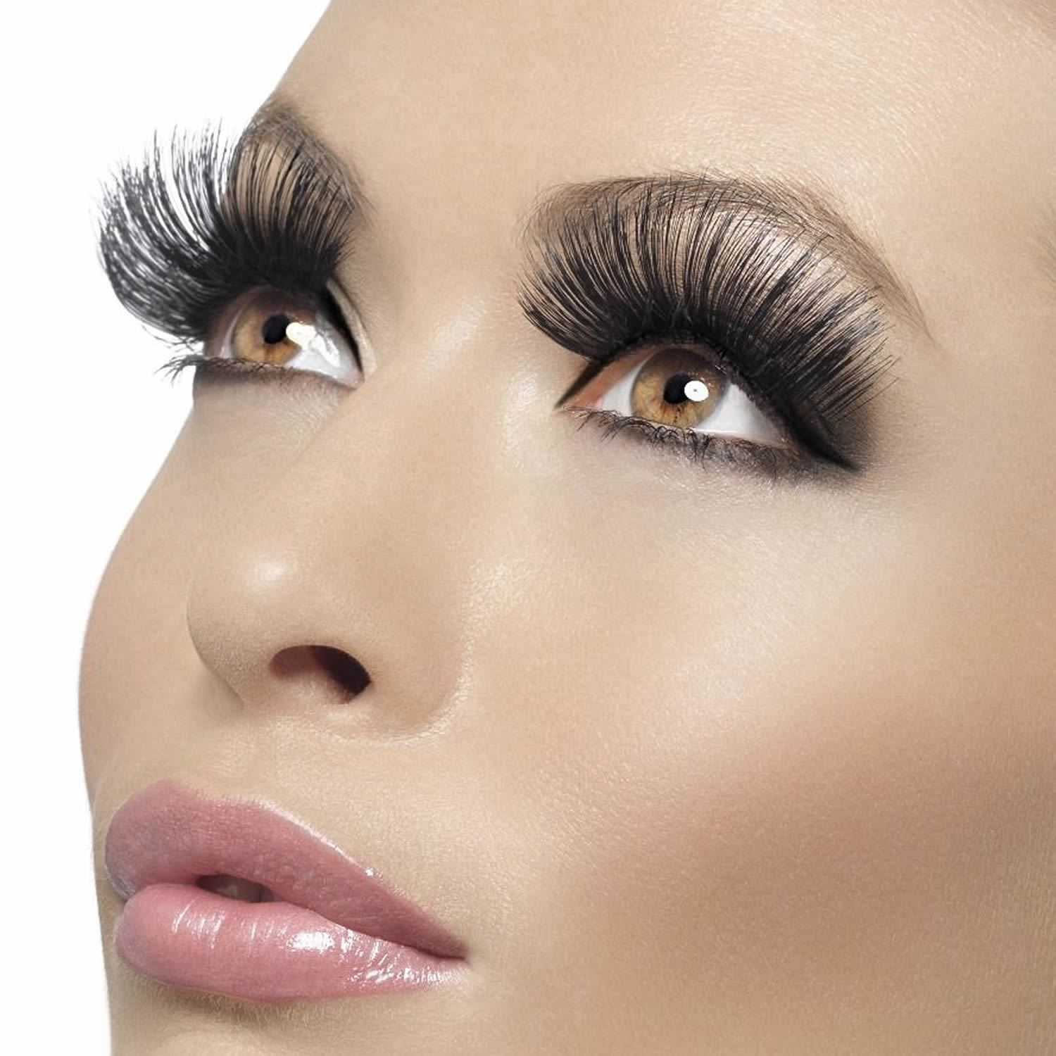 These dramatic lashes are super cheap
