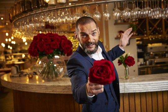 Maître d Fred from First Dates (Picture: Channel 4)