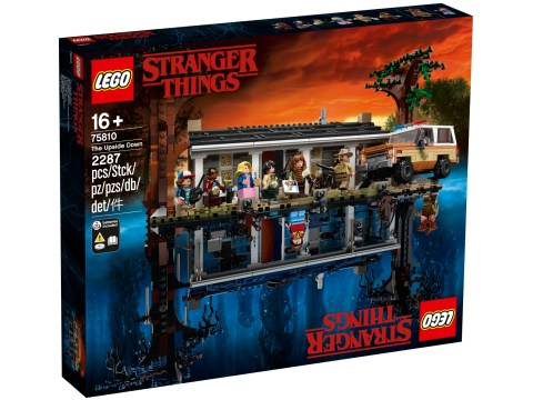 Lego Stranger Things set will turn your mind upside down