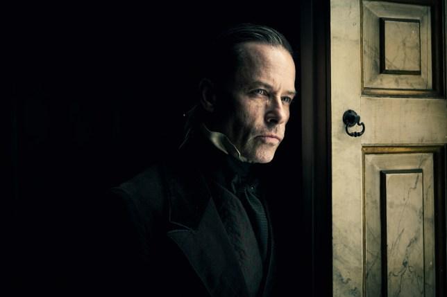 Guy Pearce as Ebenezer Scrooge.