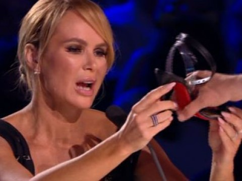 Amanda Holden leaves viewers fuming as she begs Britain's Got Talent act to 'be careful of designer shoes'