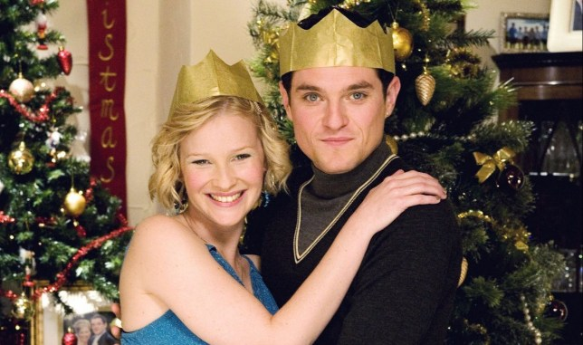 TELEVISION PROGRAMME: GAVIN AND STACEY. PICTURE SHOWS: Stacey Shipman (JOANNA PAGE); Gavin Shipman (MATHEW HORNE) TX BBC Wednesday 24th December 2008 ONE WARNING: Use of this copyright image is subject to the terms of use of BBC Pictures' BBC Digital PICTURE Service. In particular, this image may only be published in print for editorial use during the publicity period (the weeks immediately leading up to and including the transmission week of the relevant programme or event and three review weeks following) for the purpose of publicising the programme, person or service pictured and provided the BBC and the copyright holder in the caption are credited. Any use of this image on the internet and other online communication services will require a separate prior agreement with BBC.