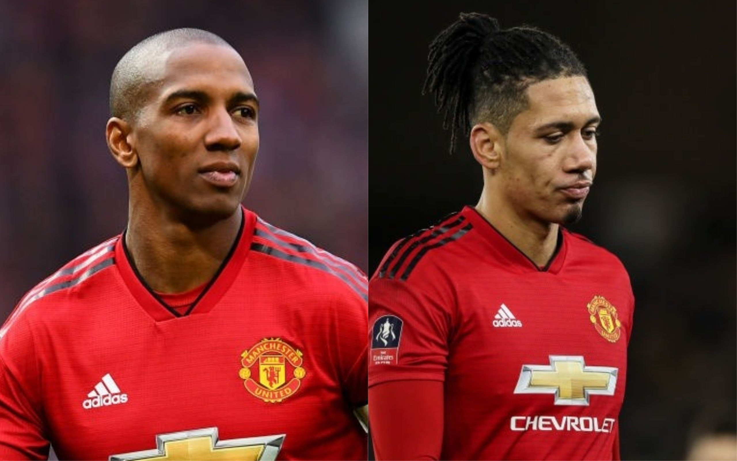 Manchester United players divided over contracts given to Ashley Young, Chris Smalling and Phil Jones