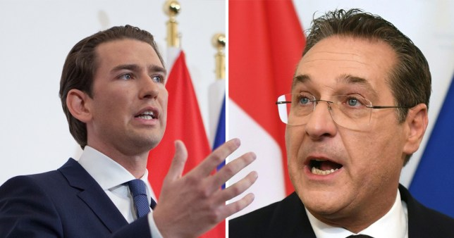 Austrian Chancellor Sebastian Kurz called for an early election after Vice Chancellor Heinz-Christian Strache resigned
