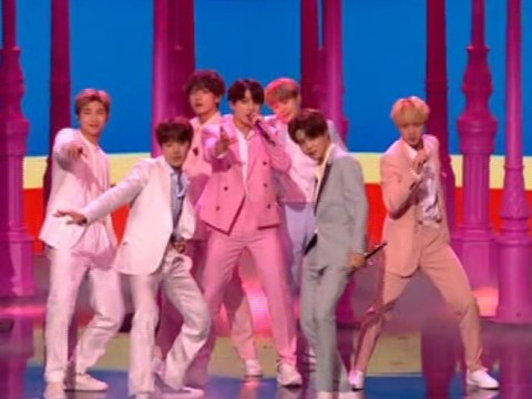 BTS send Army into meltdown as they smash Boy With Luv performance on Britain's Got Talent